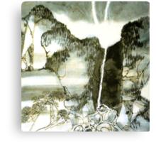 Dreamy Landscape Canvas Print