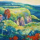 Escarpment Tamborine by Virginia McGowan