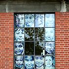 Faces at the window by Maggie Hegarty
