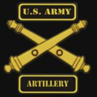 Army Artillery T-Shirt by Walter Colvin