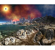 Return to the Silent City Photographic Print