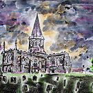 All Saints church Bakewell by Ivor