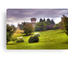 Medici Fortress of Volterra Canvas Print