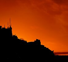 Edinburgh In Silhouettes by Don Alexander Lumsden (Echo7)