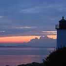 Annisquam Lighthouse Sunset - Gloucester, Massachusetts by Steve Borichevsky