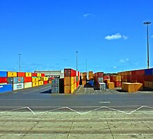Container Port by Raoul Isidro