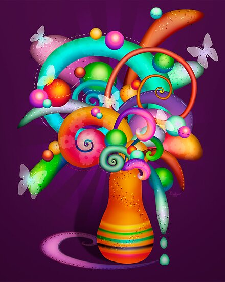 21st Century Bouquet by Shadow Lighthorse