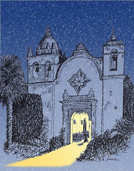 Carmel Mission, CA  by MarkArt