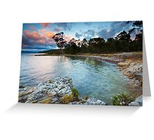 Early Morning Near Ninepin Point, Tasmania Greeting Card