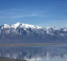 Reflective Granduer of the Great Salt Lake-Utah by Bellavista2