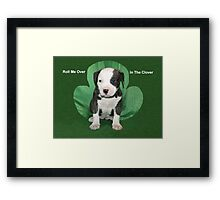 Happy Saint Patricks Day Framed Print