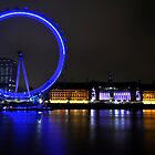 Eye across the Thames by Darren Bailey LRPS