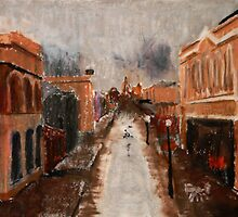 wet day in Freo by adam pearson
