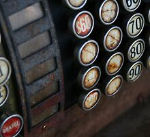 Old Cash Register by Michael  Herrfurth