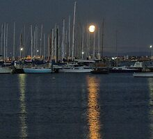 Moonglow on the Moorings ( 2 ) by Larry Lingard/Davis