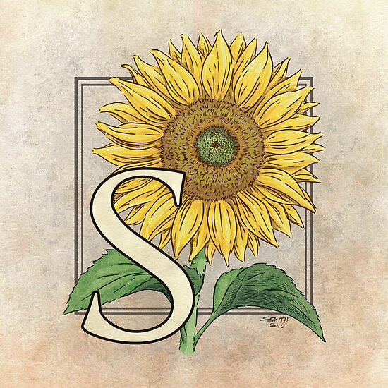 S is for Sunflower by Stephanie Smith