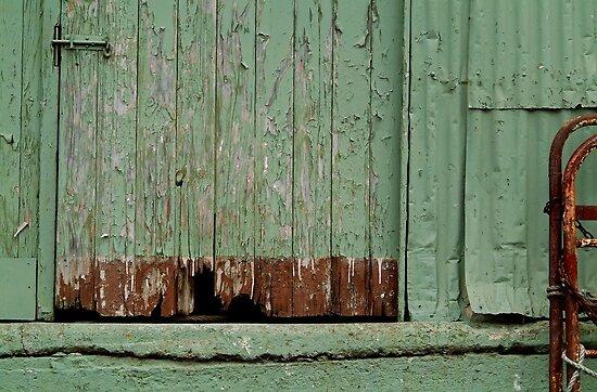 Old Loading Dock by Joe Mortelliti
