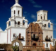 San Xavier Del Bac Mission by redhawk