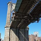 Brooklyn Bridge (a new perspective) by Nancy Richard