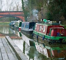 Life on the Grand Union Canal: Foxton Locks. by DonDavisUK