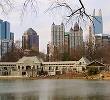 Atlanta from Piedmont Park by Michael McCasland