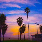 Sunset on Venice Beach in CA by Joe Bashour