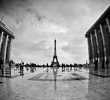 Trocadero, Paris by Andre Gascoigne