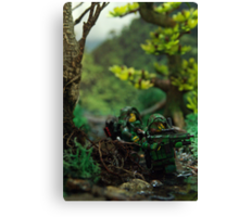 Lego jungle spec op Canvas Print