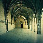 Claustro del monasterio de los Jeronimos, Lisboa by MickP