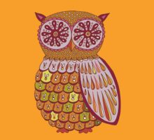 Retro Owl Shirt by Thaneeya McArdle