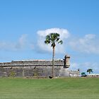 Southwest bastion, Castillo San Marcos by Ben Waggoner