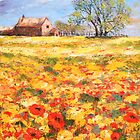 Across the Poppyfield by Patricia Sabin