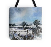 Easter snow in Skipton Tote Bag