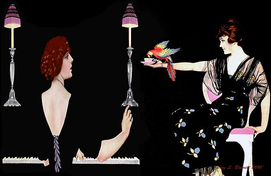 Girl Friends by artstoreroom