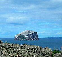 The Bass Rock from Tantallon by BlueMurder
