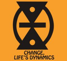 T-Shirt Adinkra Symbol: Change by Keith Richardson