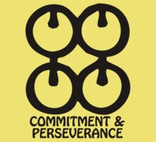 T-Shirt Adinkra Symbol: Perseverance & Commitment by Keith Richardson