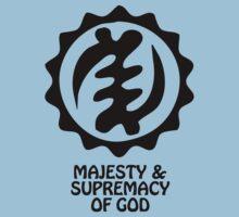 T-Shirt Adinkra Symbol: Supremacy of God by Keith Richardson