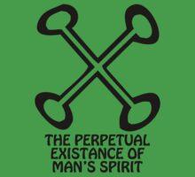 T-Shirt Adinkra Symbol: Man's Spirit by Keith Richardson