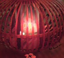 Red Lamp Glow  by kreativekate