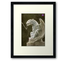 Protector Of The Gateway Framed Print