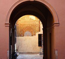 An Archway in Pavia, Italy 2011 by Igor Pozdnyakov