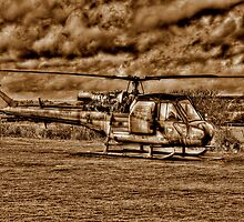 Army Chopper by Louise Godwin