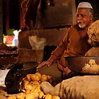 Potato Seller &amp; Cat by Vikram Franklin