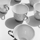tea cups 1 by Janine Paris