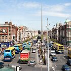 O'Connell Street, Dublin Ireland by Paul  Kelly