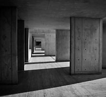 Concrete Texture, Salk Institute  by Daan  de Waard