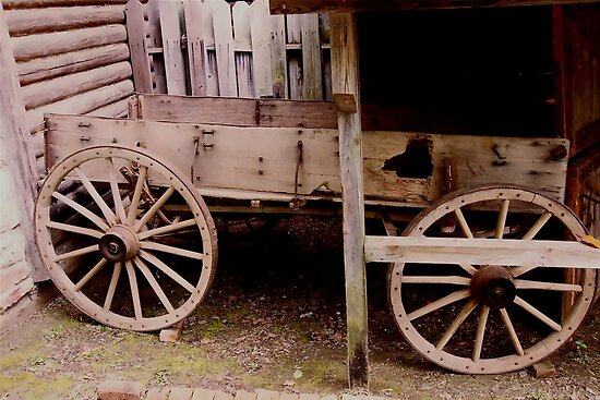Ol' Wagon by Dawn di Donato