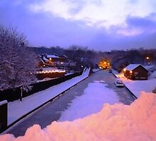 Christmas Canal by ldodd89