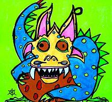 le petit monstre Dewey by Sara Kovanda